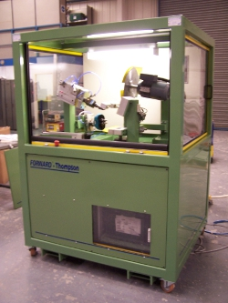 Blow moulding finishing machine